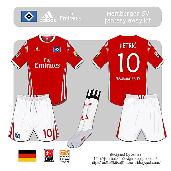 Hamburger SV fantasy away