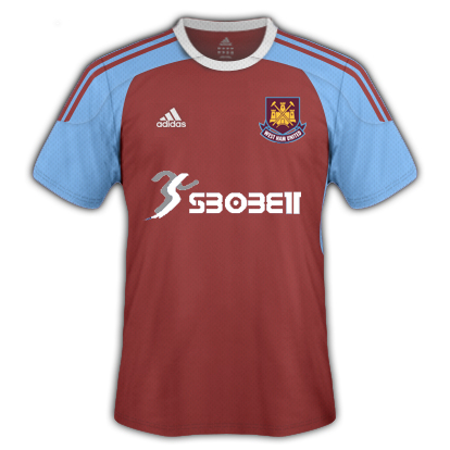 New West Ham Kit Fantasy 2010