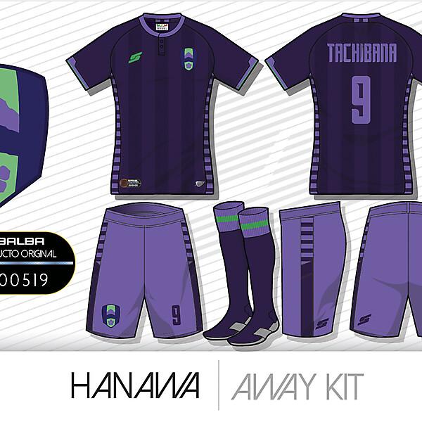 Hanawa Away kit