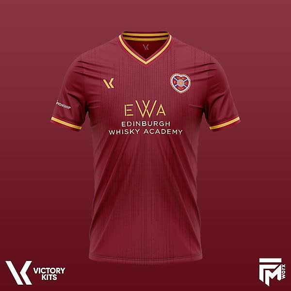 Heart of Midlothian Football Club 2020/21 Concept Home