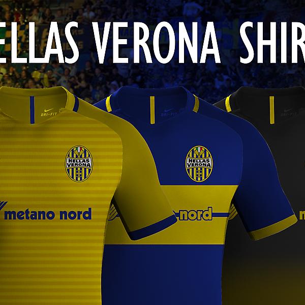 Hellas Verona - Nike Shirts
