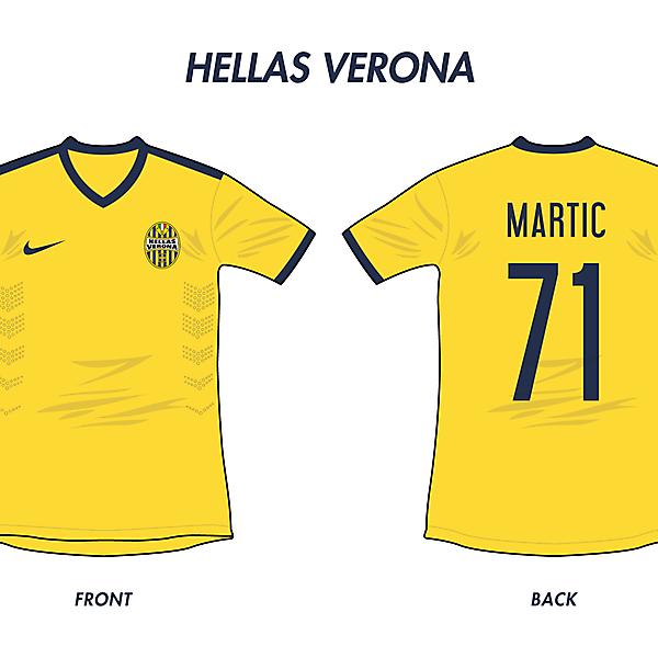 Hellas Verona Away