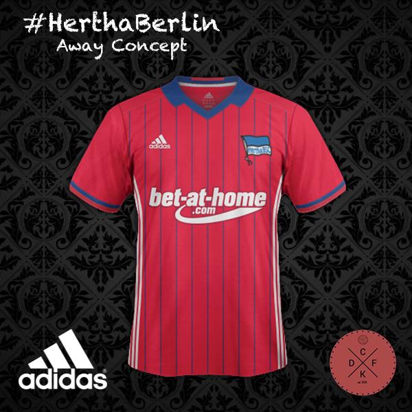 Hertha Away Adidas Concept