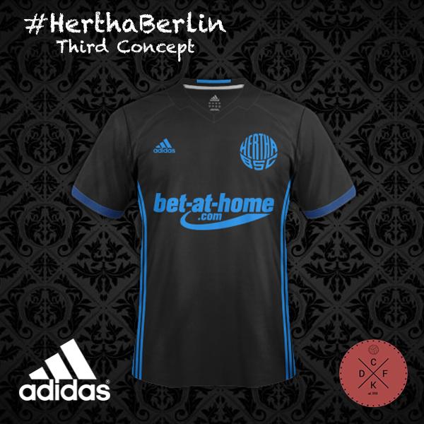 Hertha Third Adidas Concept