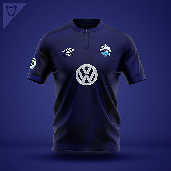 HFX Wanderers x Umbro - home concept