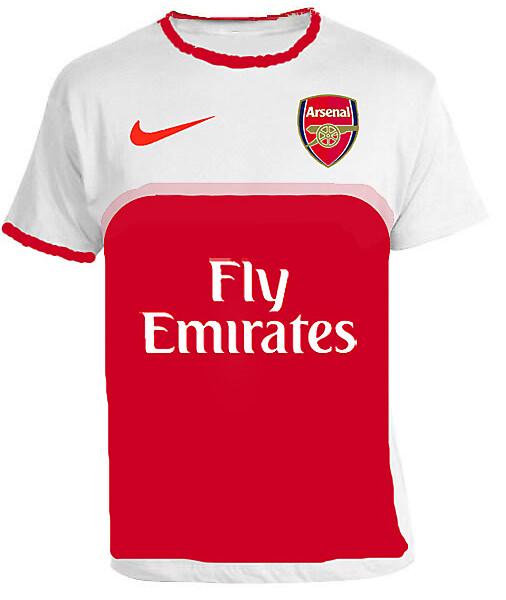 Arsenal Home Shirt