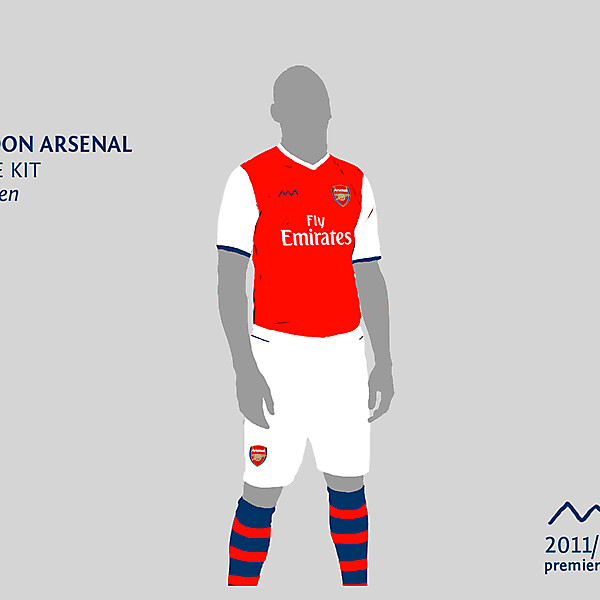 Arsenal home by green