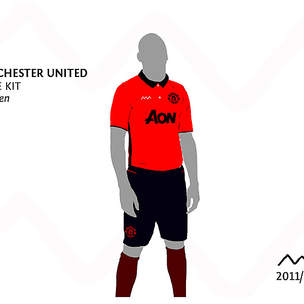 Manchester United Home by green