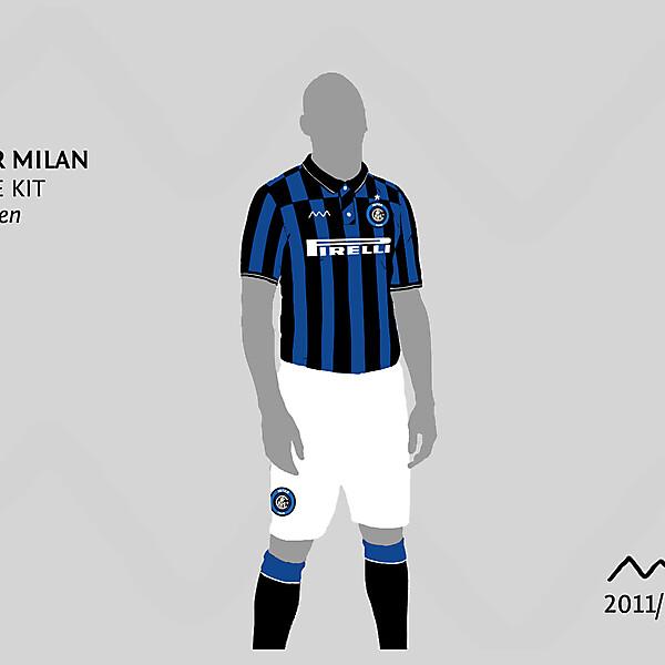 Inter 2011/12 Home Kit