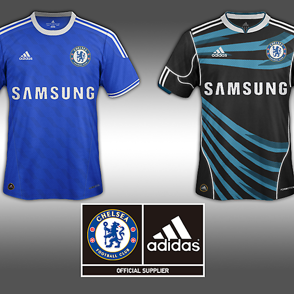 Home and Away Jersey-Chelsea