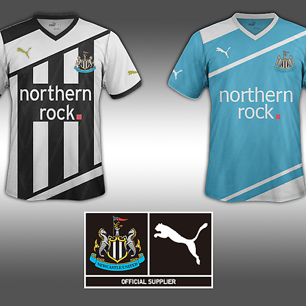 Home and Away Jersey-Newcastle