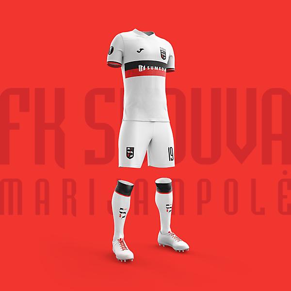 Home kit proposal | FK Sūduva