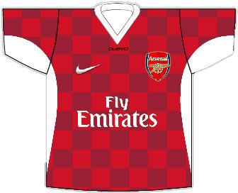 Arsenal 2013/14 Home Shirt