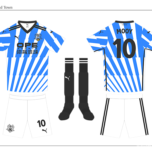 Huddersfield Home Kit