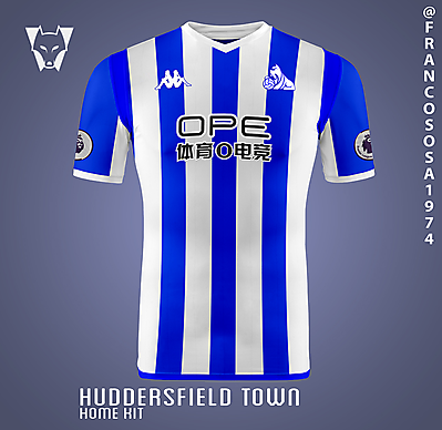 Huddersfield Kappa home