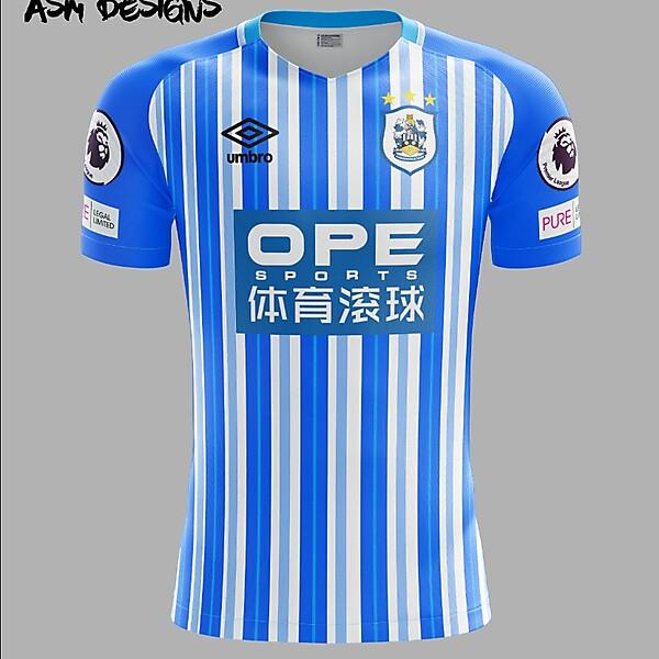 Huddersfield Town A.F.C. Umbro 2018 Home Kit