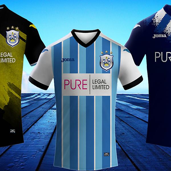 Huddersfield Town Fc / Joma Footbll Kits