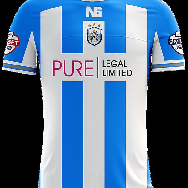 Huddersfield Town Home Jersey concept