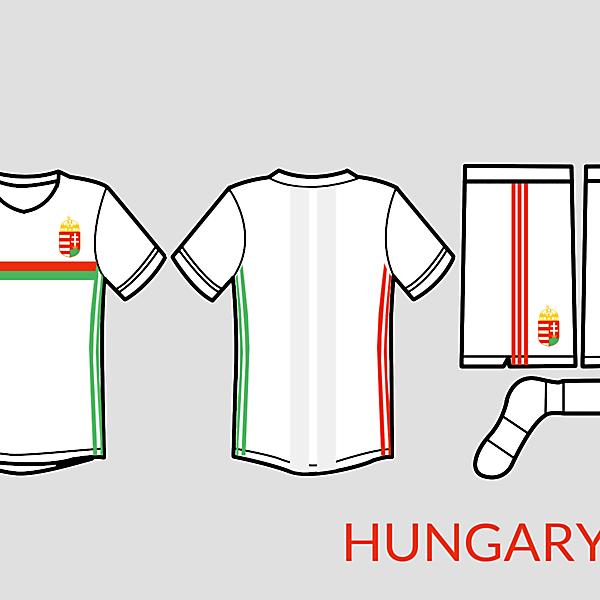 Hungary football kit away 2016