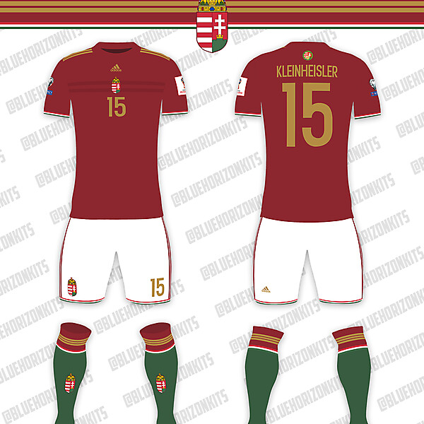 Hungary National Team Home Kit