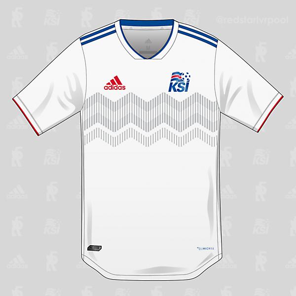 Iceland adidas Away Shirt 2018