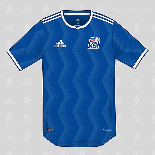 Iceland adidas Home Shirt 2018