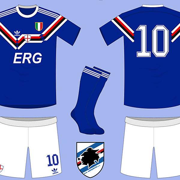 If adidas sponsored Sampdoria in the early 90s...