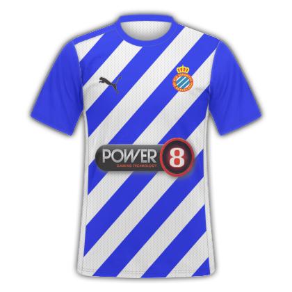 Imaginary RCD Espanyol Home kit