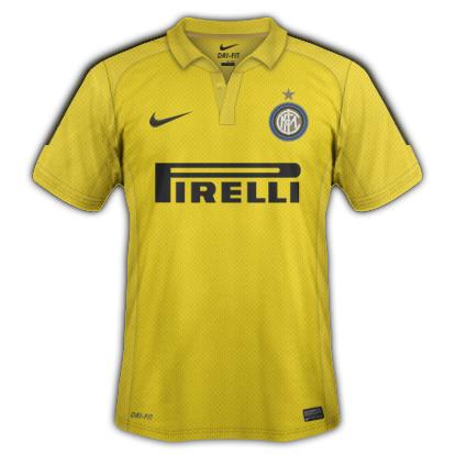 Inter Milan FC fantasy kits with Nike