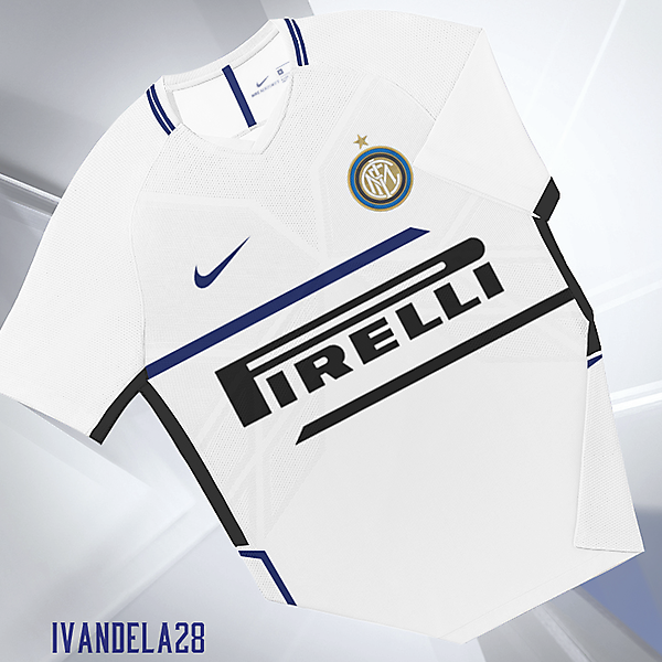 Inter Away Kit Nike