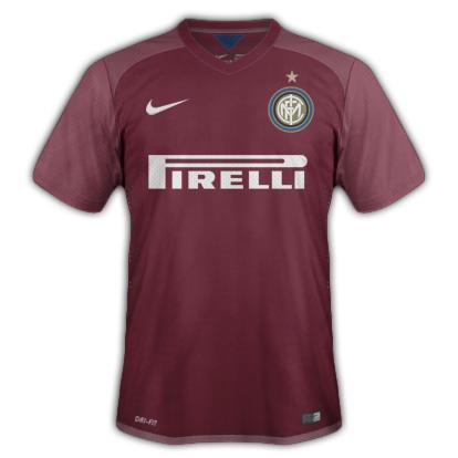 Inter Milan Away kit for 2015/16 with Nike