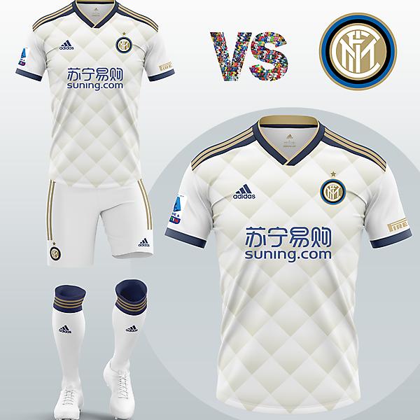 Inter Milan Away kit with Adidas (Concept 2020/21)