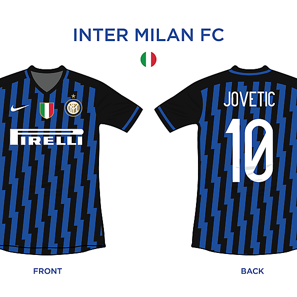Inter Milan FC Home 2016/17