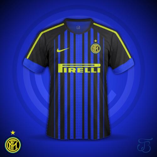 Inter Milan Kit Design Concept