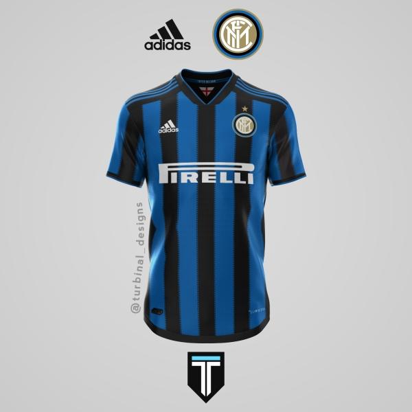 Inter Milan x Adidas - Home Kit Concept