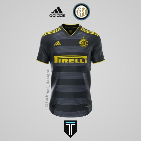 Inter Milan x Adidas - Third Kit Concept