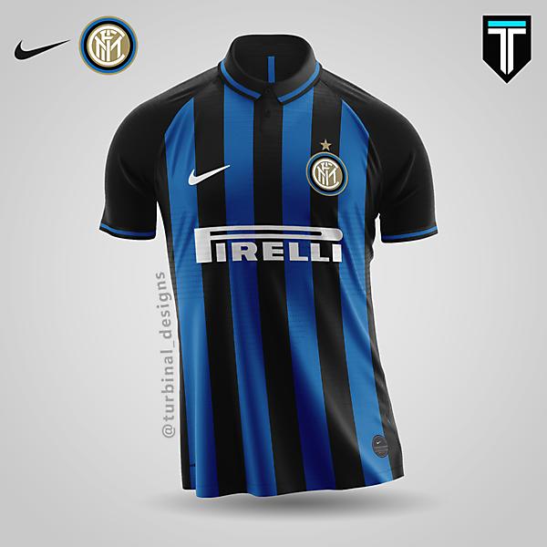 Inter Milan x Nike - Home Kit Concept
