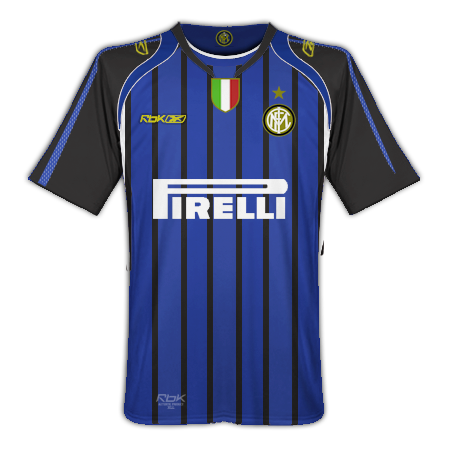Inter Milan Home and Away