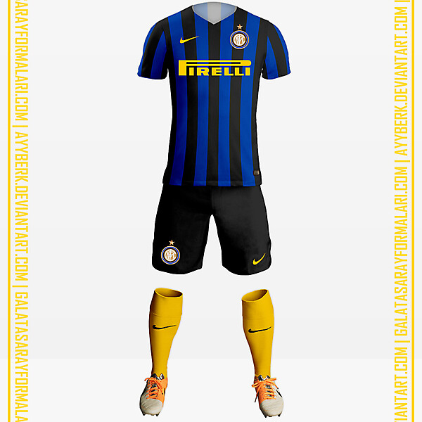 Inter x Yellow Socks 16-17