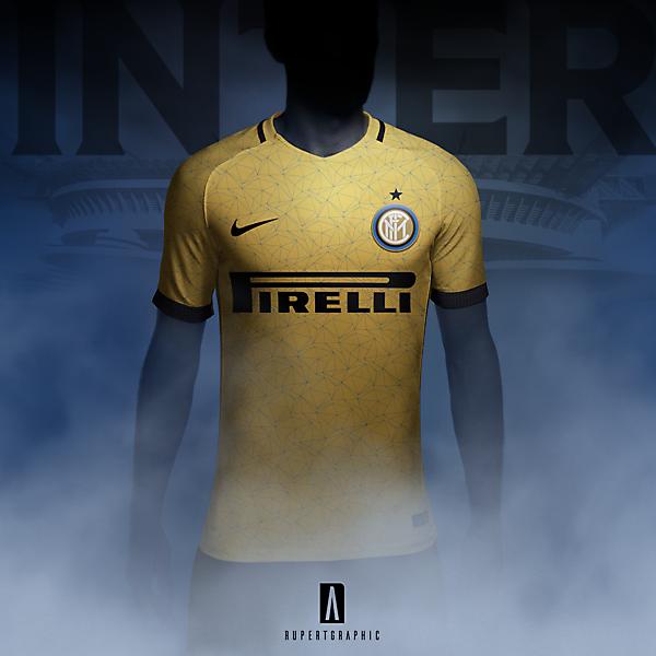 Inter Yellow- 90s tribute