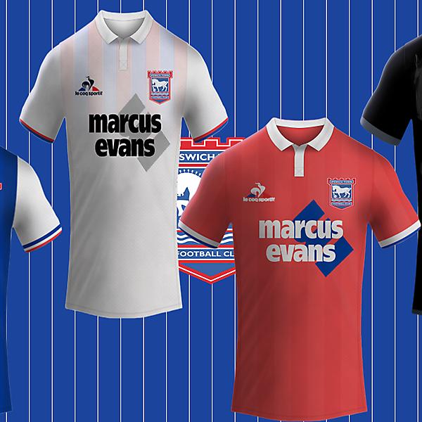 Ipswich Town Fc / Le Coq Sportif Kits