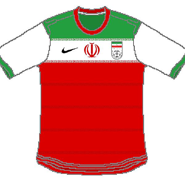 Iran Nike Home, Away and Third