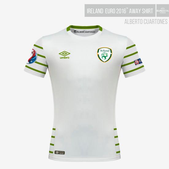 Ireland UEFA EURO 2016™ Away Shirt