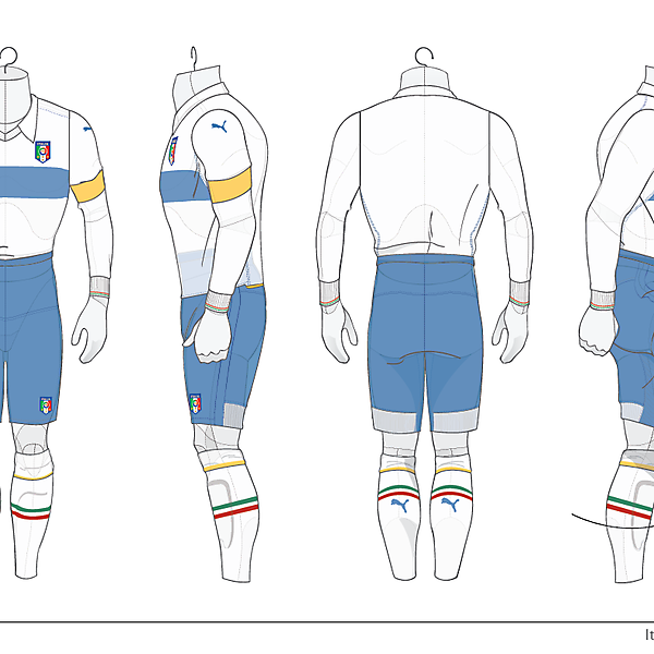 Italy 2010 World Cup Kit Away