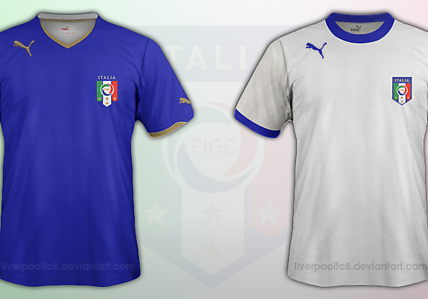 Italy 2014 Kit Mock