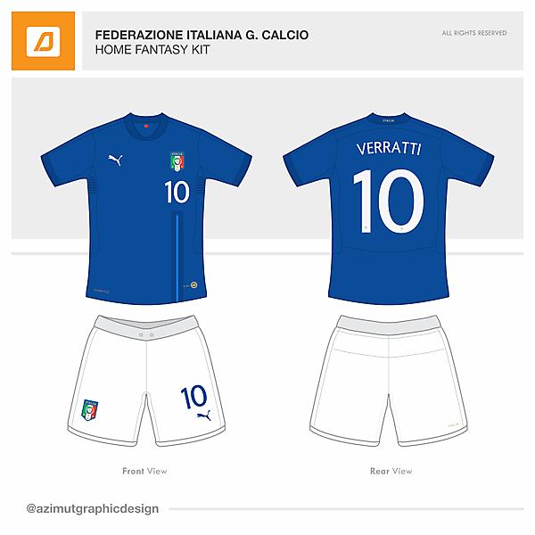 Italy / Home Fantasy Kit