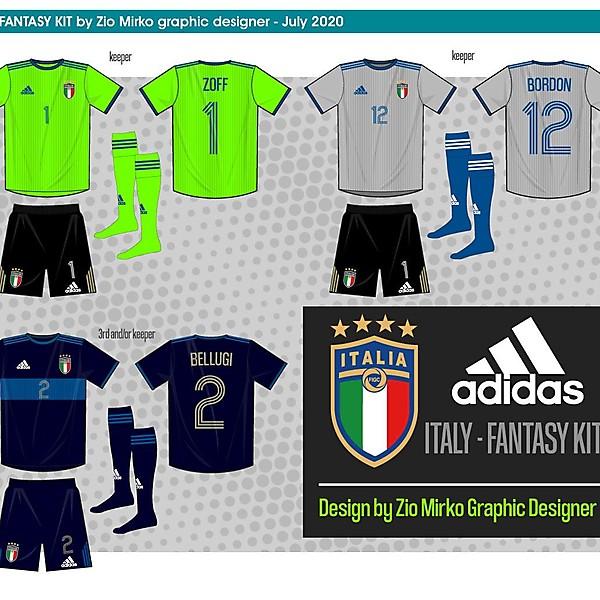 Italy Adidas fantasy kit