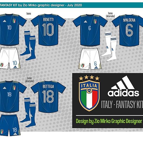 Italy Adidas fantasy kit home