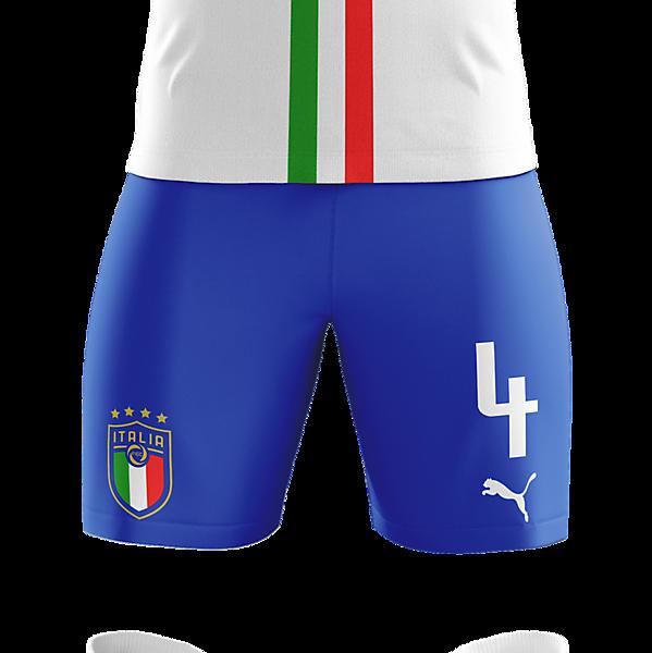 Italy Away Kit (Euro 2016 Inspiration)