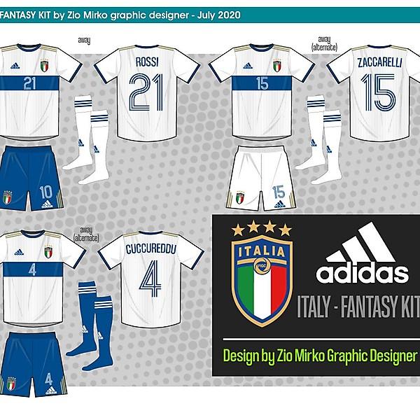 Italy fantasy Adidas kit away